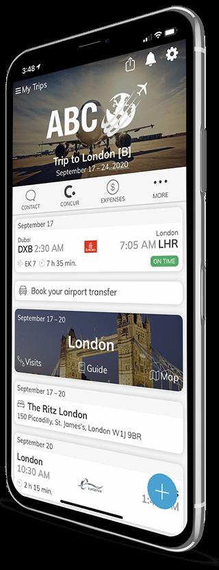 Business Travel App