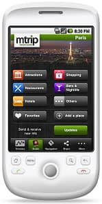 Travel guide on Android