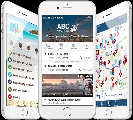 Aplicações móveis para a indústria de viagens