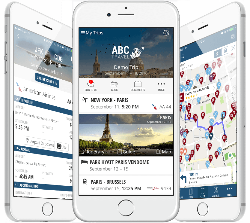 mTrip Travel Apps