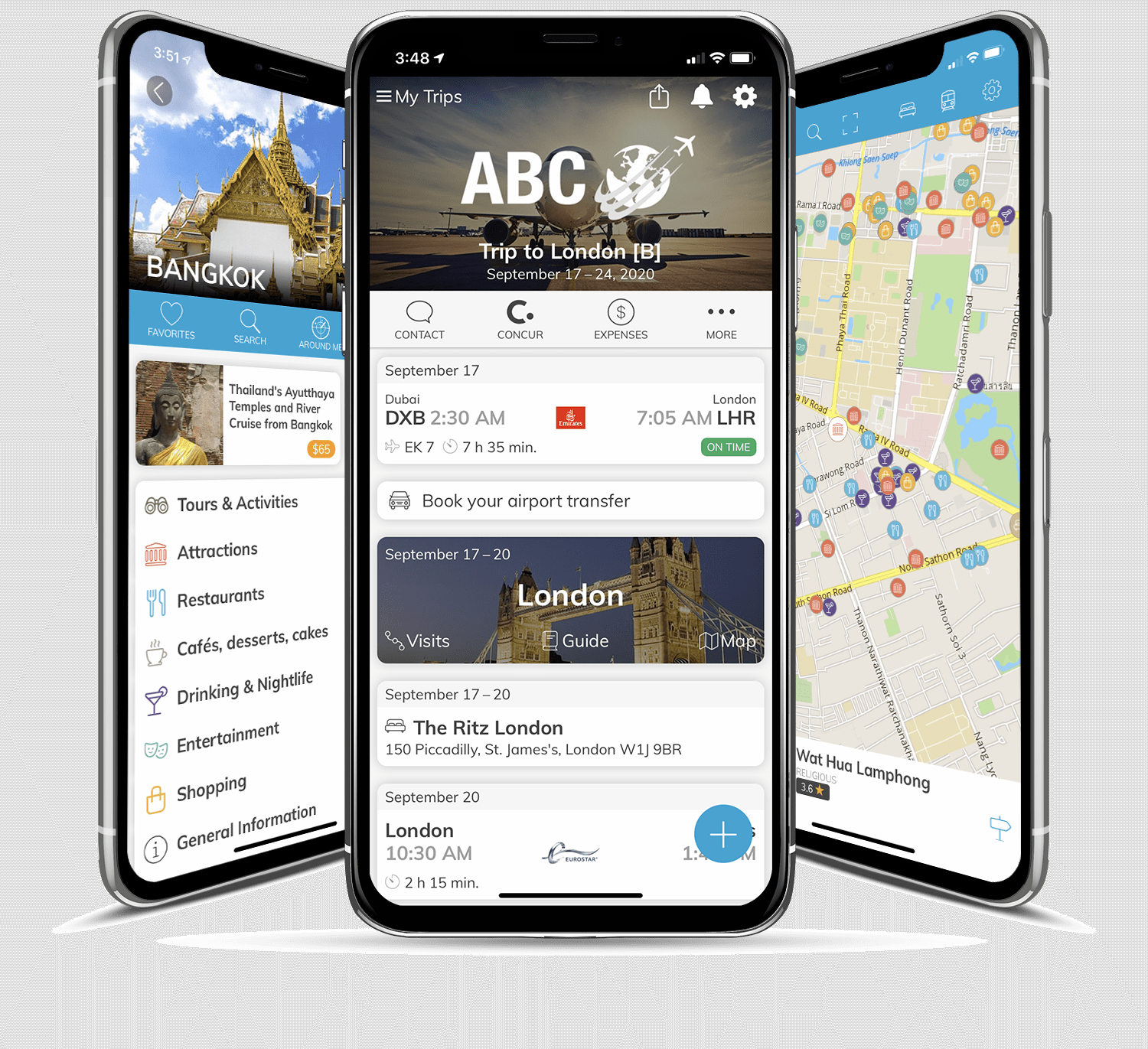 mTrip Apps